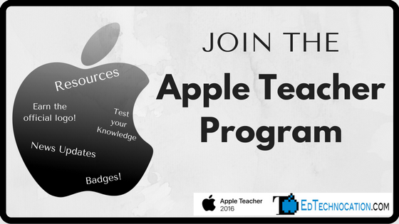 Learn how to Join the #AppleTeacher Program | @EdTechnocation | #AppleEd #EdTech