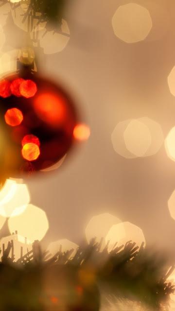 christmas lights iphone 6 wallpaper hd