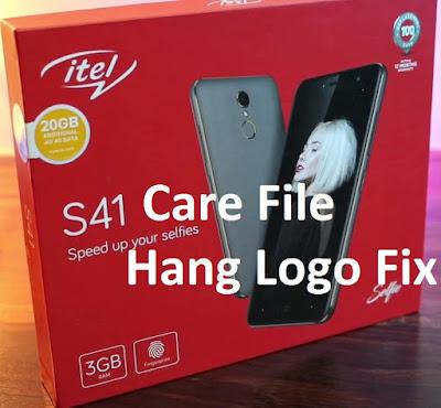 itel S41 Firmware Care File Download