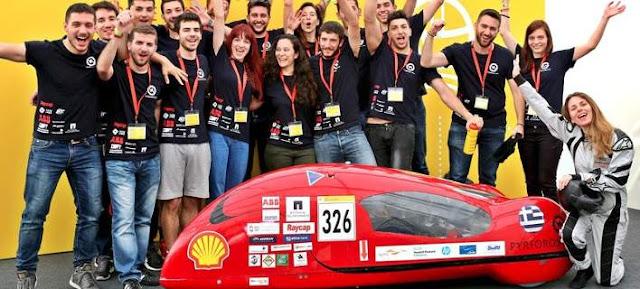 ΜΠΡΑΒΟ ΤΟΥΣ! ΠΑΝΤΟΥ ΕΛΛΗΝΕΣ! Φοιτητές διάνοιες του Μετσόβιου Πολυτεχνείου κατασκεύασαν το όχημα του μέλλοντος (ΦΩΤΟ)