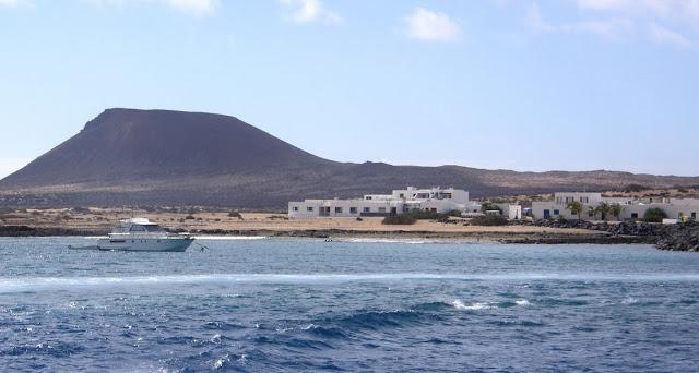 Caleta del Sebo y Playa de La Laja (La Graciosa, Canarias)