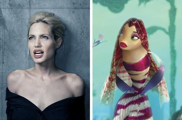 Angelina Jolie - Lola Shark Tale