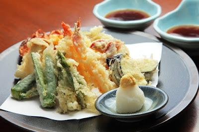 Tempura (Makanan terkenal di Jepang)