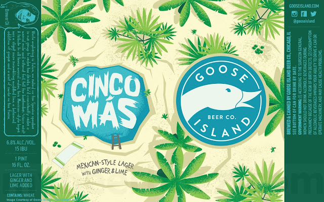 Goose Island Cinco Más Mexican-Style Lager Coming To 16oz Cans