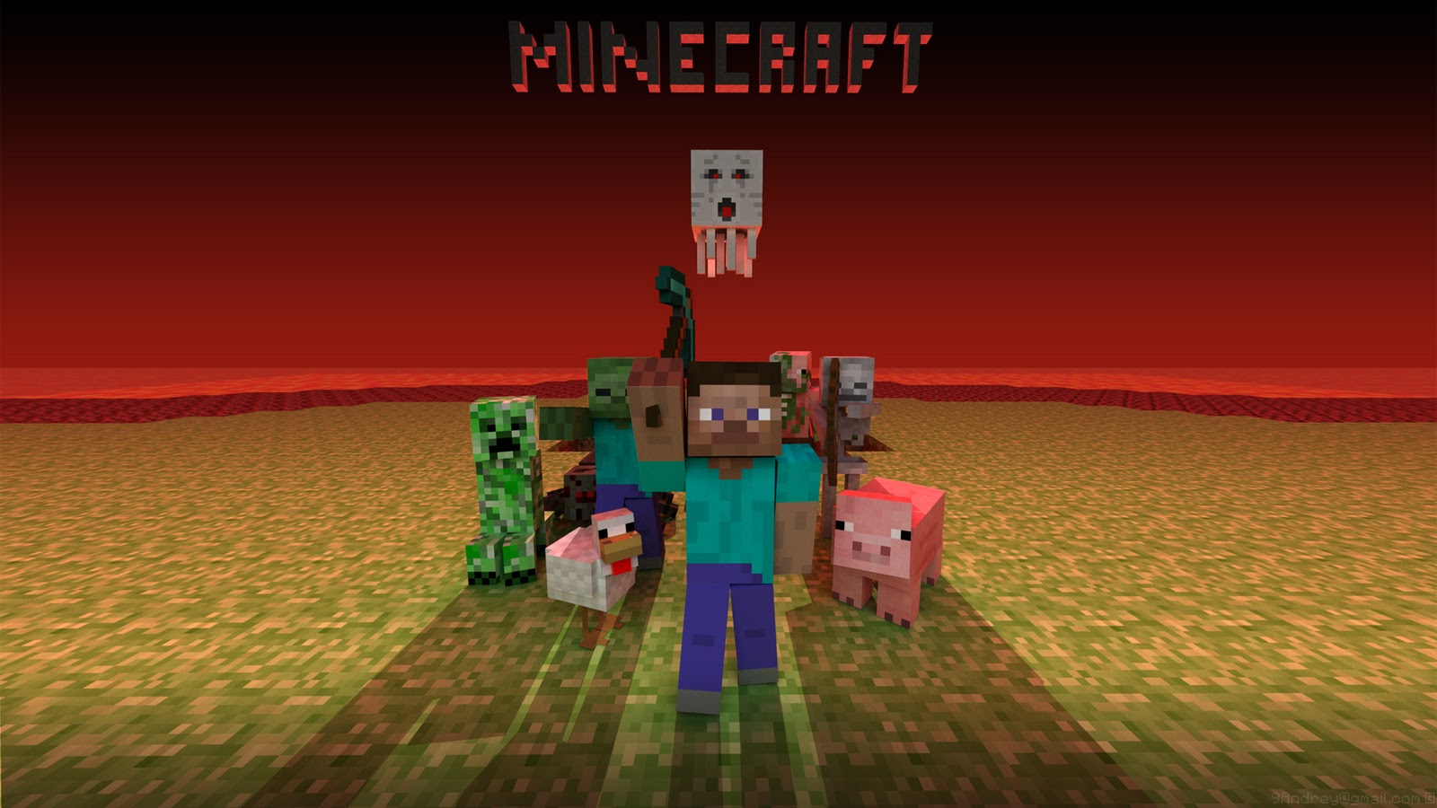 Minecraft HD Texture Pack: Minecraft Wallpaper HD