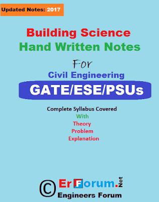 building-science-handwritten-notes