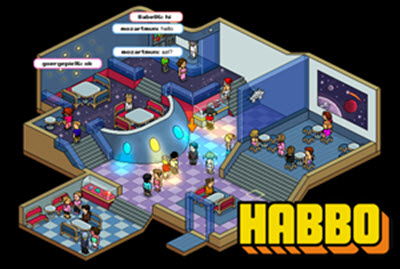 Image of games like Habbo Hotel