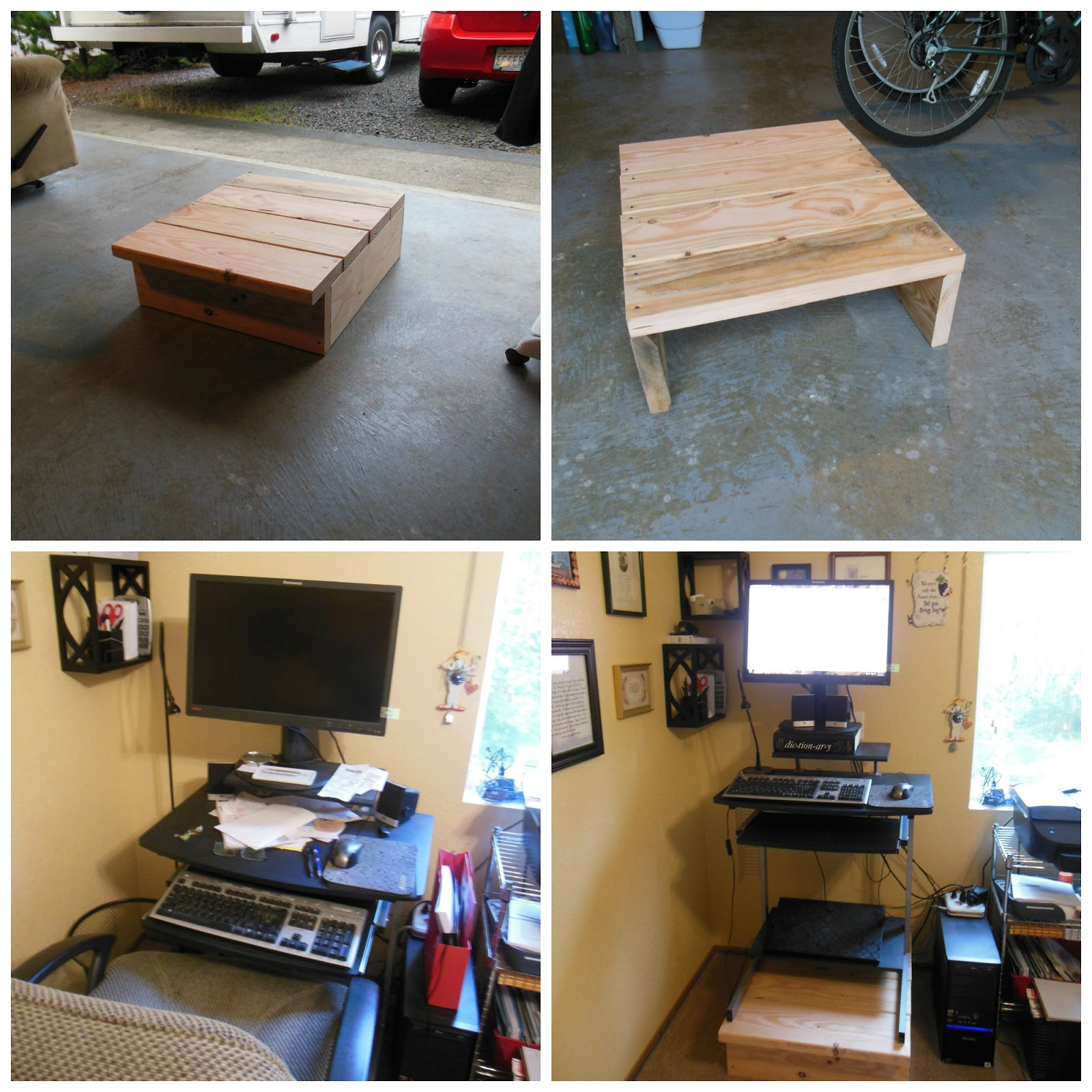 Magnificent How To Turn Your Desk Into A Stand Up Workstation Our Home Remodeling Inspirations Gresiscottssportslandcom