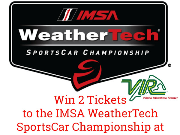 Experience the IMSA WeatherTech SportsCar Championship at Virginia International Raceway This August + Ticket #Giveaway