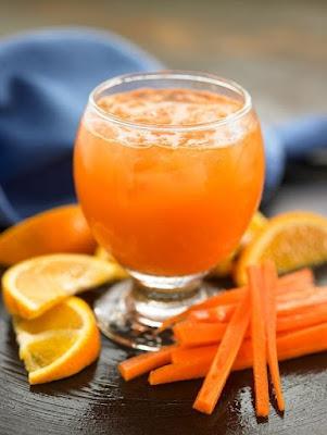 hình ảnh nước ép cam cà rốt