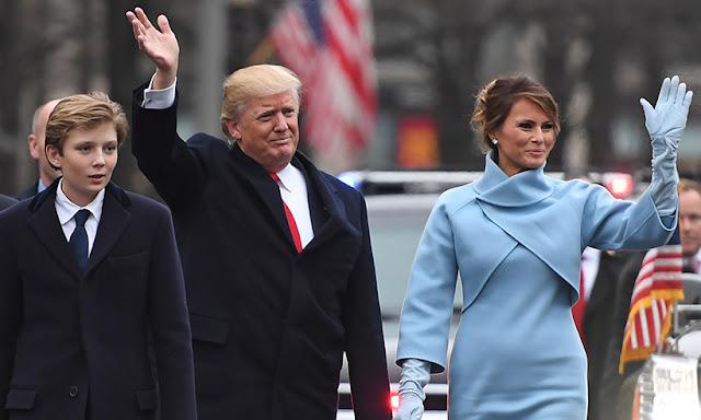 Donald Trump Jr. pic, Barron Trump pic, Ivana Trump pics