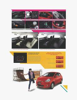 brosur mitsubishi mirage baru 2014