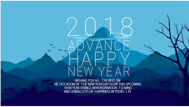 Get Fulfilled Moment With Happy New year 2018 Wishes Wallpapers & Greetings Cards