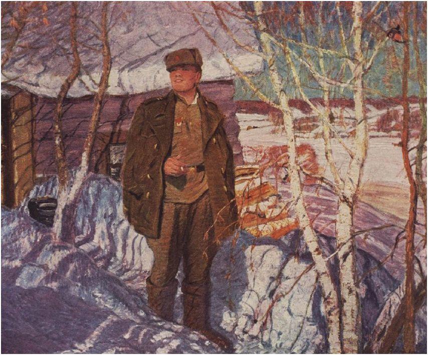 Картина стихи виктора дмитриевского