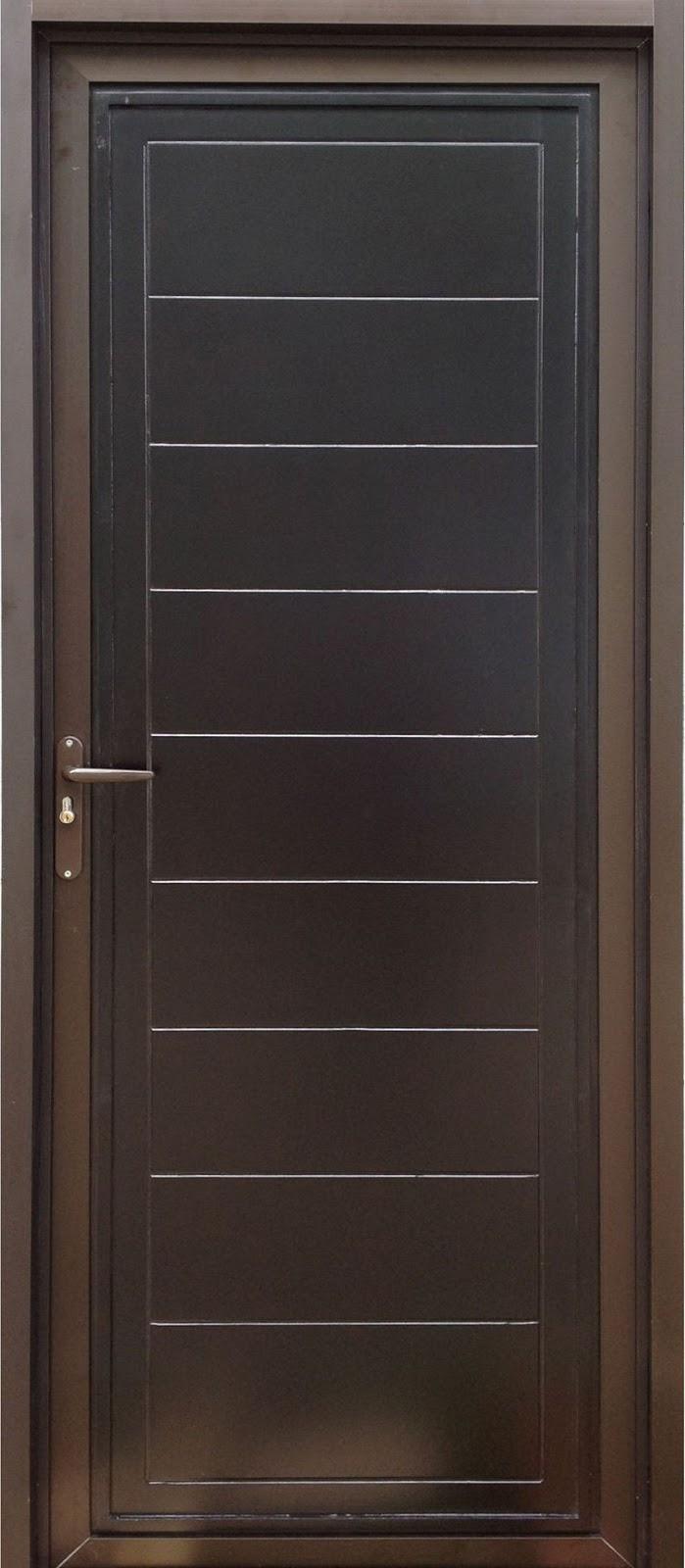 Model Pintu Aluminium Urat Kayu Yang Keren Rumahminimalispro Com