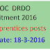 DESIDOC DRDO Recruitment 2016 Apply for 38 Apprentices posts