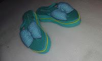 Sandal Pon Strip Pita Kombinasi