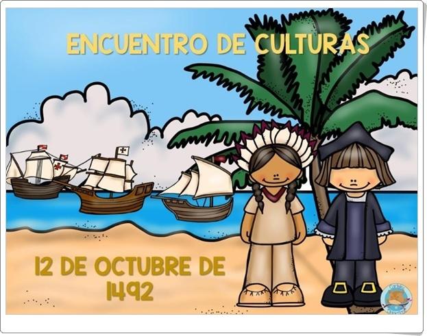 """""""Encuentro de culturas"""" (Presentación sobre el Descubrimiento de América)"""
