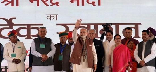 Jaipur, Rajasthan, Barmer, Pachpadra, Barmer Refinery, Pachpadra Refinery, BJP MLA Kailash Choudhary, Kailsh Choudhary Baytu, PM Modi, Narendra Modi, PM Modi Speech in Barmer, भाजपा विधायक, बाड़मेर, राजस्थान, जयपुर, पचपदरा, रिफाइनरी, पीएम मोदी, बायतू विधायक कैलाश चौधरी