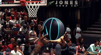 NBA 2K13 Custom Nike Ball Patch (Gray, Black & Blue)