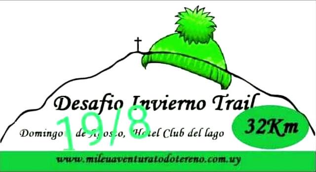 32k Desafío Invierno Trail (Club del lago - Punta Ballena - Maldonado, 19/ago/2018)
