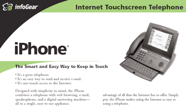 iphone infogear
