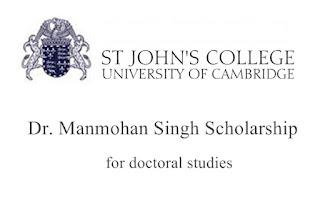 Dr Manmohan Singh Scholarships