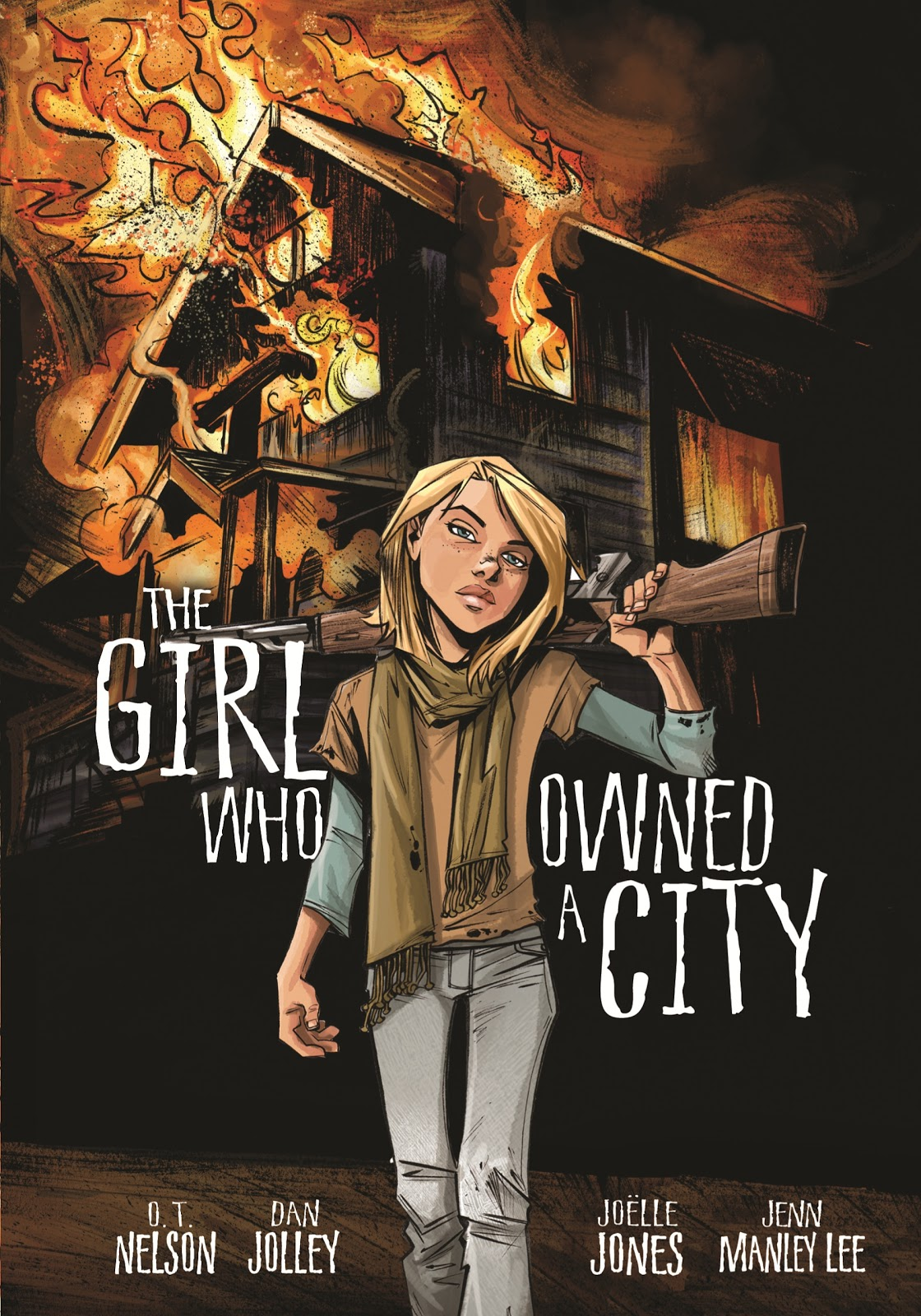 the midnight bookworm review the girl who owned a city the graphic