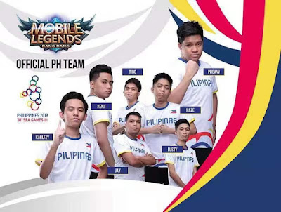 Mobile Legends: Bang Bang Philippine Team SEA Games 2019