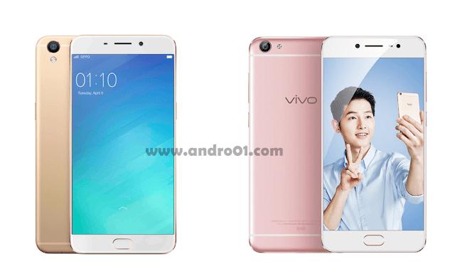 Oppo F1S plus vs Vivo X7 indonesia