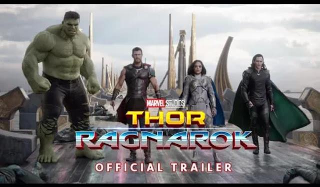 Thor: Ragnarok Official Trailer Cover