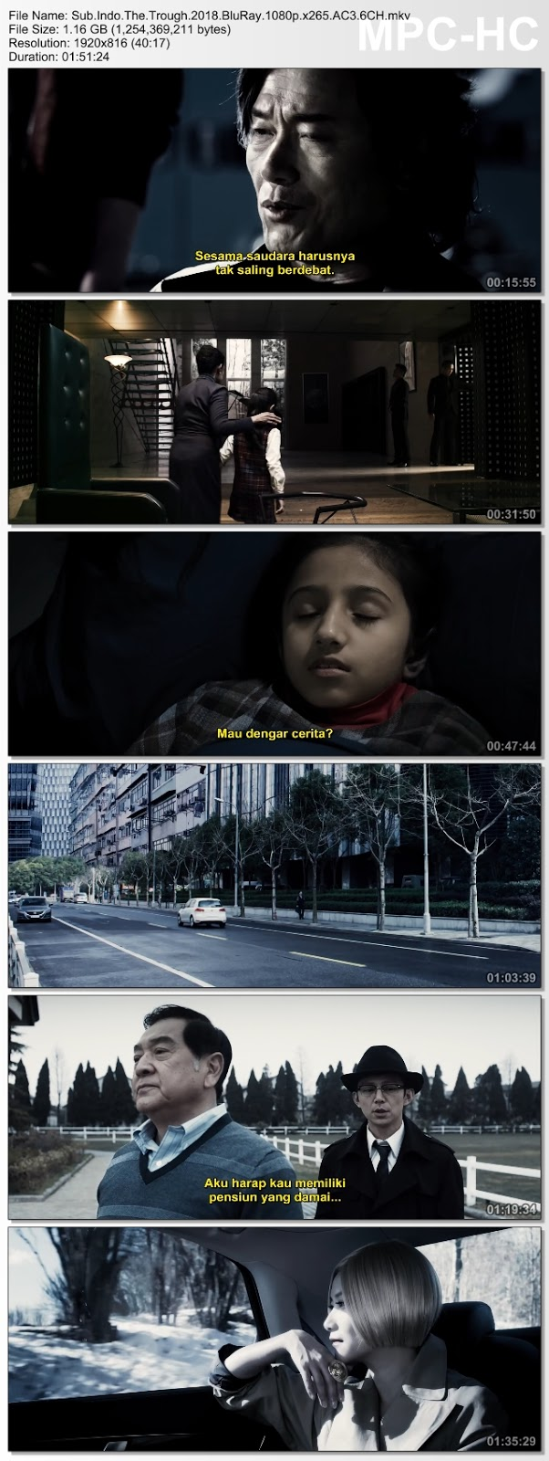 Screenshots Download Di ya cao (2018) BluRay 480p & 3GP Subtitle Indonesia