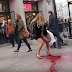 "Woman Shocks Passersby After Experiencing A ""Period Explosion"" In Public ( WATCH VIDEO)"