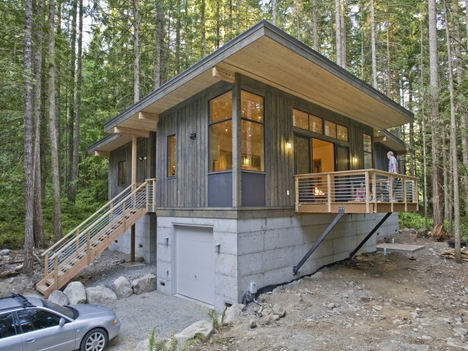Small prefab homes prefab cabins prefab method cabin by for Dwell houses
