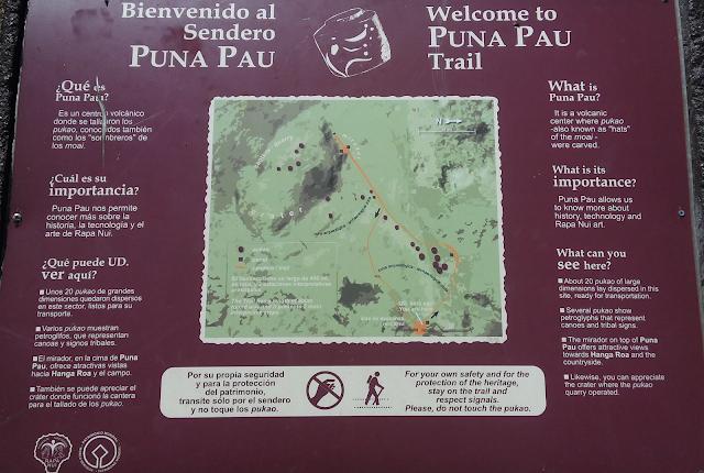 Puna Pau, Isla de Pascua