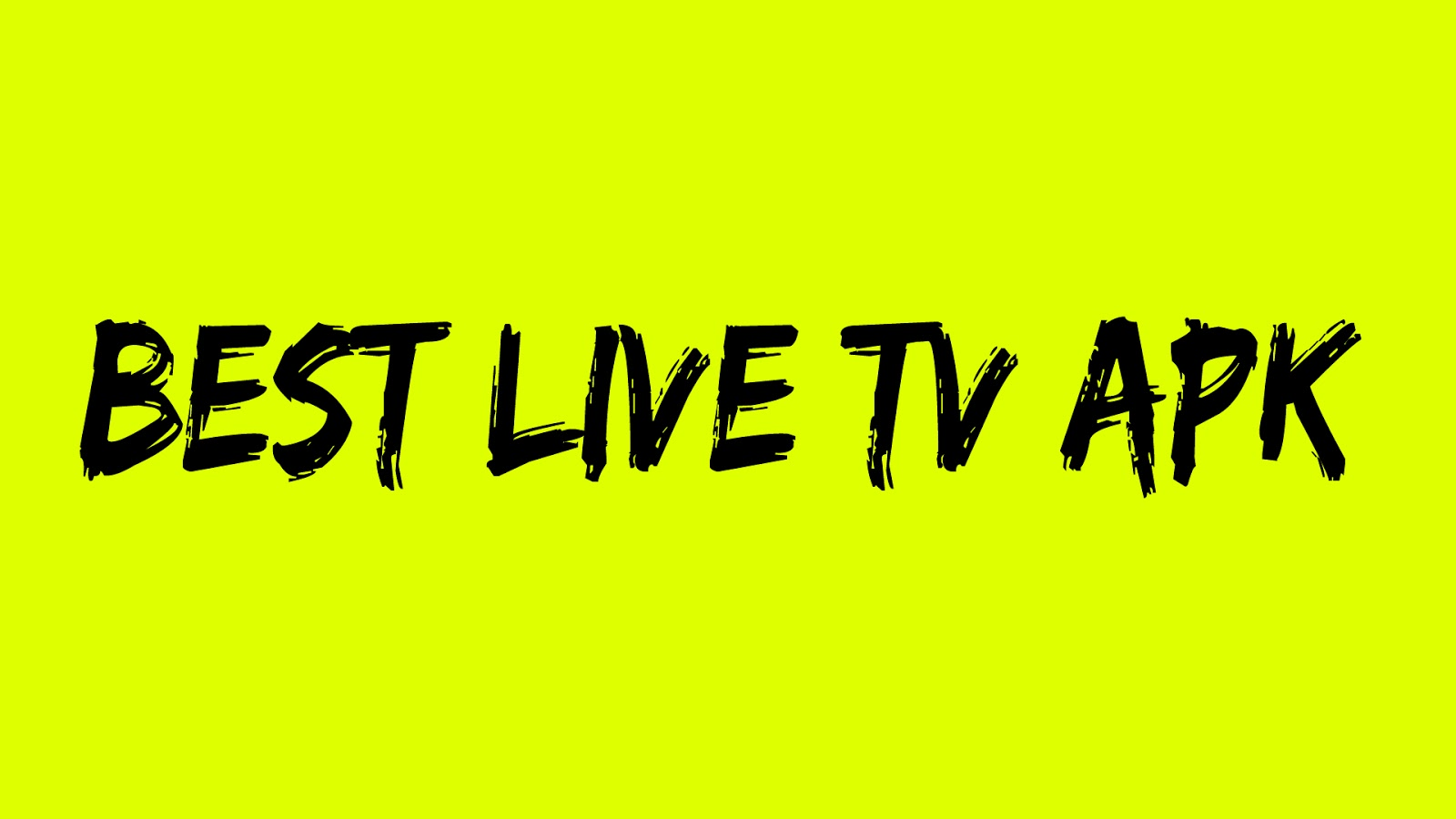 Best Live Tv Apk For Android Mobile ~ Tips And Trick