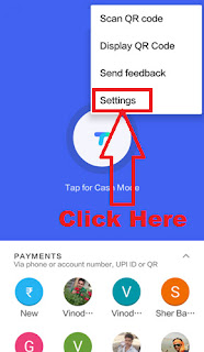 how to add bank account in google upi tez app