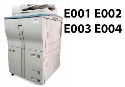 Solusi E001 E002 E003 E004 Mesin Fotocopy Canon IR