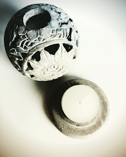 Soapstone Tealight Holder from Purity Belle Candles