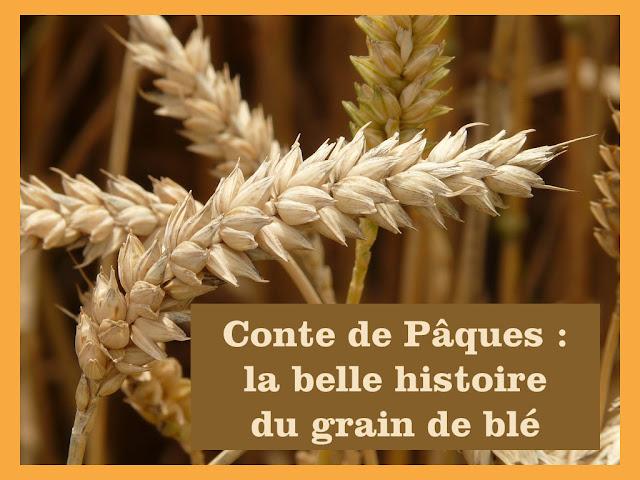 Conte de Pâques : la belle histoire du grain de blé