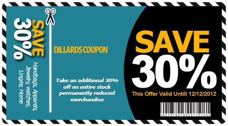 graphic relating to Dillards Printable Coupon called Dillards outlet coupon codes / Leisure coupon ebook code 2018
