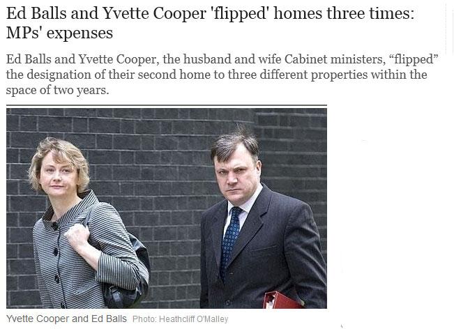 Yvette cooper pissing