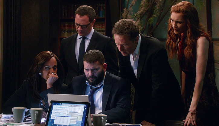 """Scandal - Vampires and Bloodsuckers - Review: """"Mission Critical"""""""