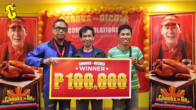 Chooks-To-Go winners of 100K
