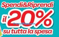 Logo Carrefour : ''Spendi & Riprendi il 20% su tutta la spesa''