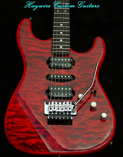 image results for double Fat strat custom shop model in Red