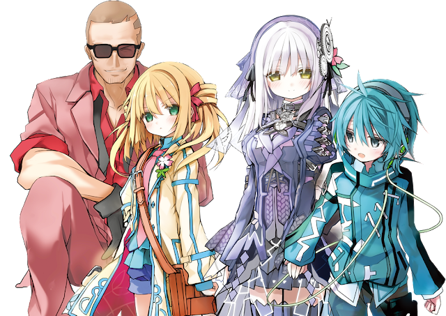 Bohater i bohaterki anime Clockwork Planet