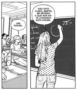 La amante cartesiana de Ruiz y Alarcón, edita Egales comic amor lesbianas