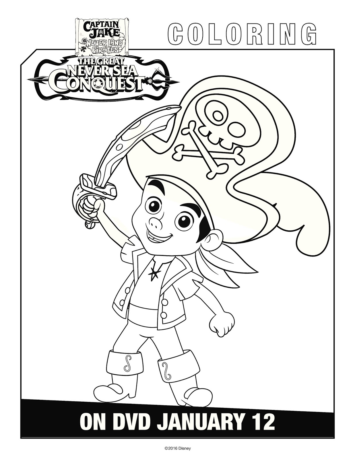 Arrgghh You Ready For Captain Jake And The Never Land