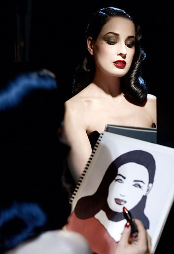 fee0b61eed5d ... beautiful with her Dita Von Teese Classics artdeco cosmetics collection.